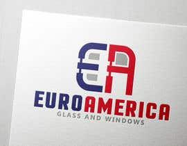 Nro 47 kilpailuun Design a Logo for EUROAMERICA käyttäjältä Renovatis13a