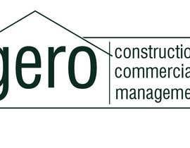 Nro 29 kilpailuun Design a Logo for Gero Construction Commercial Management käyttäjältä Dckhan