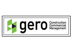 #44 para Design a Logo for Gero Construction Commercial Management por hamzahafeez2000
