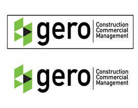 #45 para Design a Logo for Gero Construction Commercial Management por hamzahafeez2000