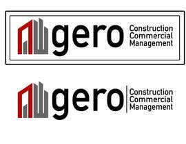 #47 para Design a Logo for Gero Construction Commercial Management por hamzahafeez2000