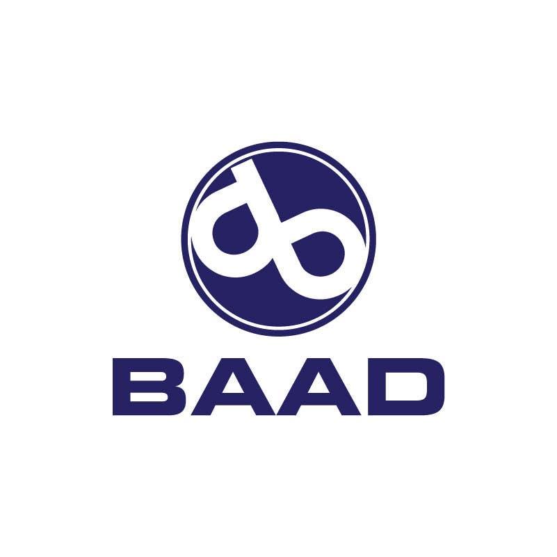 Inscrição nº 85 do Concurso para BAAD Logo Design
