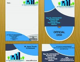 #3 untuk Design a letterhead and business cards for a facility management company oleh Iamsharoz