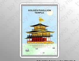 #6 for Illustrate Something for Golden Pavillion Temple (Japan) by Hayesnch