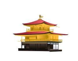 #26 for Illustrate Something for Golden Pavillion Temple (Japan) by ganeshbhoopathy5