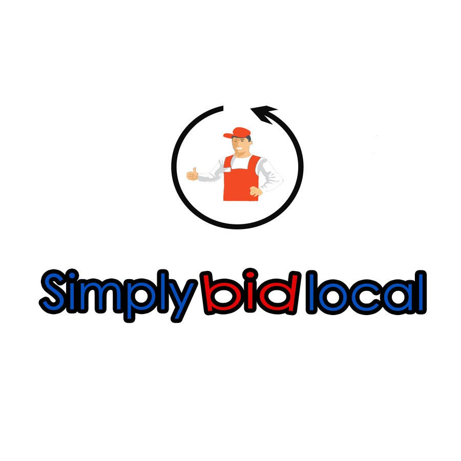 Contest Entry #48 for Design a Logo for bid website: SimplyBidLocal.com    (Be part of a new start up)