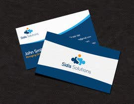 #6 untuk Design some Business Cards for Sidis Solutions oleh siambd014