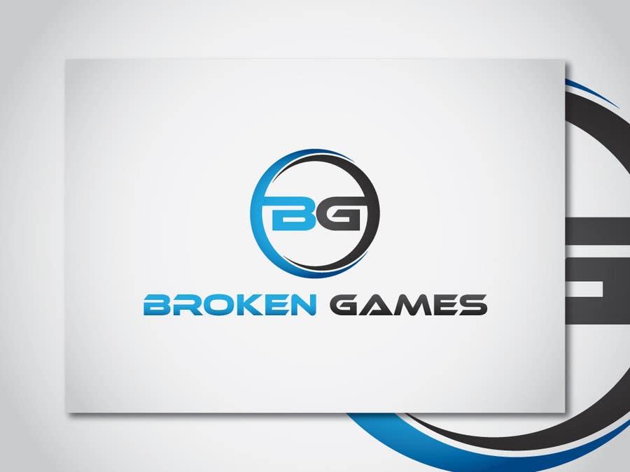 Inscrição nº 21 do Concurso para Design a Logo for Broken Games