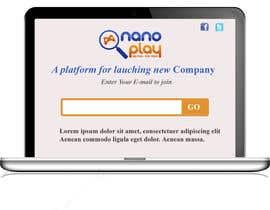 nº 3 pour Build a pre-launch website for nanoplay.eu par POONAKHATRI