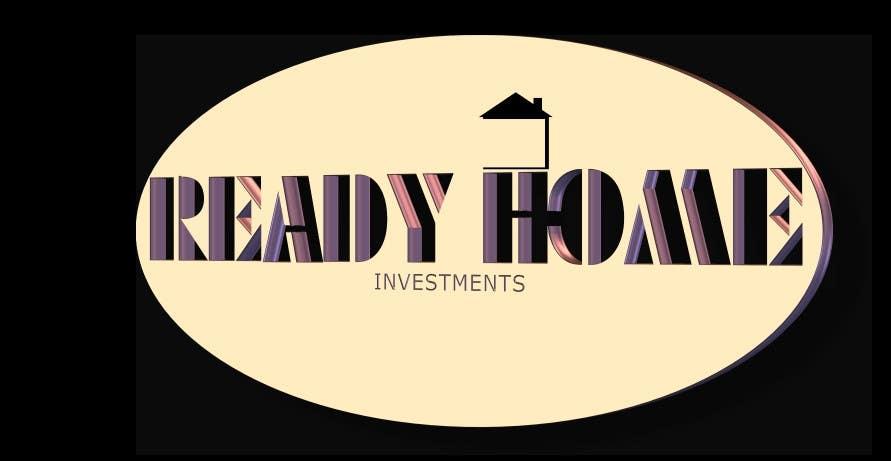 Bài tham dự cuộc thi #82 cho Design a Logo for Ready Home Investments