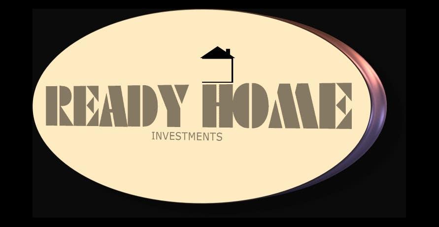 Inscrição nº 86 do Concurso para Design a Logo for Ready Home Investments
