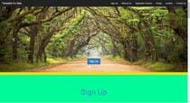 Graphic Design Entri Peraduan #1 for Design a Website Mockup homepage for a medical app