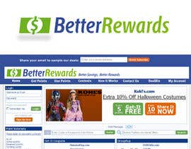 #18 for Logo and Masthead Design for Better Rewards by santarellid