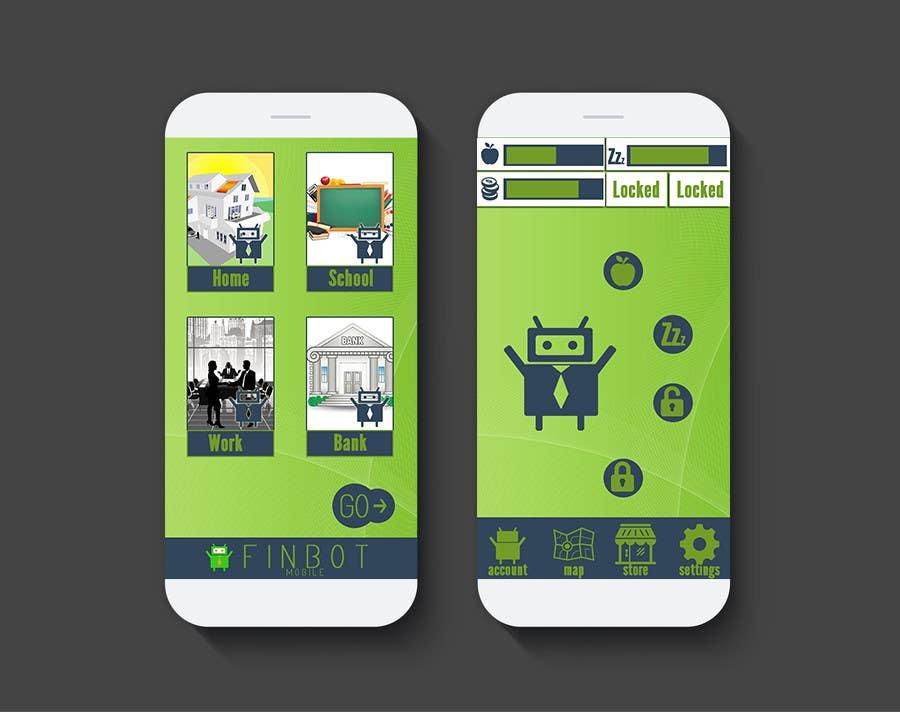 Bài tham dự cuộc thi #20 cho Very simple contest - design two iPhone screenshot mockups