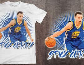 #9 untuk Stephen Curry NBA/Spice for making food creative design oleh ralfgwapo