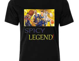 #22 untuk Stephen Curry NBA/Spice for making food creative design oleh hussainanima