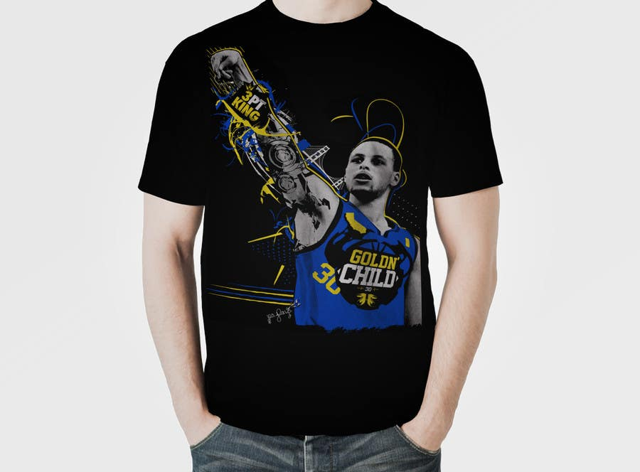Penyertaan Peraduan #15 untuk Stephen Curry NBA/Spice for making food creative design