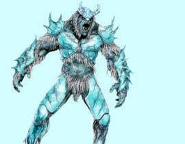 Gimio tarafından Create a Yeti Monster wearing Ice Armor için no 6