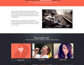 SadunKodagoda tarafından Design a Website for Music Band introduction site için no 3