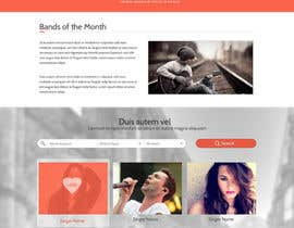 SadunKodagoda tarafından Design a Website for Music Band introduction site için no 10
