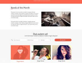 nº 11 pour Design a Website for Music Band introduction site par SadunKodagoda