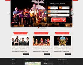 #7 para Design a Website for Music Band introduction site por iNoesis