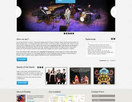 iNoesis tarafından Design a Website for Music Band introduction site için no 14