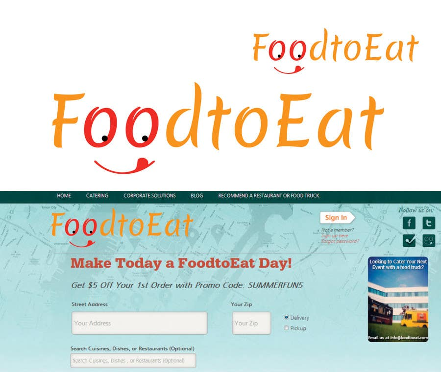 Proposition n°67 du concours Design a Logo for Online food ordering website