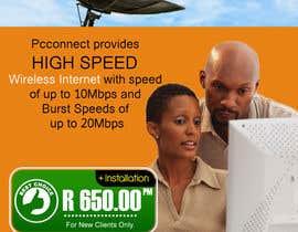 Nro 15 kilpailuun Design an Advertisement for Wireless Internet 2 käyttäjältä manjegraphics