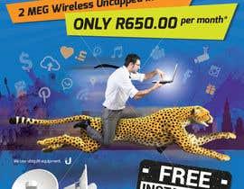 #56 untuk Design an Advertisement for Wireless Internet 2 oleh enshano