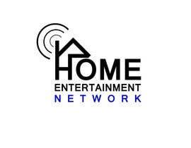 Nro 8 kilpailuun Home Entertainment Network Logo Design käyttäjältä nazrulislam277