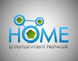 #15 para Home Entertainment Network Logo Design por TimNik84