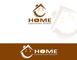#24 untuk Home Entertainment Network Logo Design oleh talhafarooque