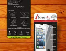#19 untuk Create Print and Packaging Designs for iScreen4u Tempered Glass Screen Protector oleh creazinedesign
