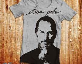 #1 para T-shirt Design for IndoPotLuck - Steve Jobs Tribute por lewiverdatama