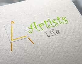#348 untuk Design a Logo for Artists Life oleh djmalibiran