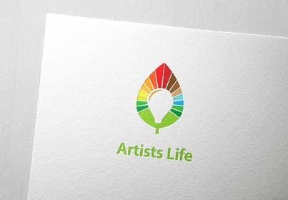#132 untuk Design a Logo for Artists Life oleh affineer