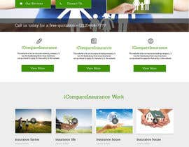 #7 untuk Design website mockup for an insurance broking company oleh infosouhayl