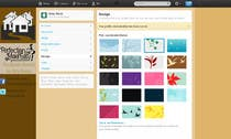 Contest Entry #9 for Design a Twitter background for Company