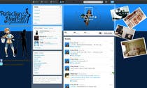 Contest Entry #12 for Design a Twitter background for Company
