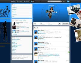 #12 cho Design a Twitter background for Company bởi juntenx