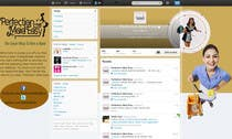 Contest Entry #13 for Design a Twitter background for Company