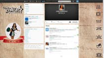 Contest Entry #4 for Design a Twitter background for Company