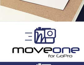 #9 for Projetar um Logo - MOVE ONE For GoPro. Be a HERO. by silviafonsecas