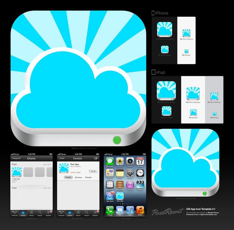 Bài tham dự cuộc thi #                                        7                                      cho                                         Design new icon for existing iOS app