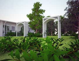 #11 untuk Arts and Crafts (Mission Style or Prairie style) archways and trellis design oleh biodomo