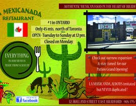 monee91 tarafından Design an Advertisement for Mexican Restaurant için no 6