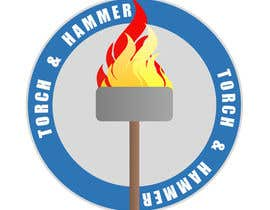 #1 untuk Design a Logo for Torch and Hammer oleh frankbates