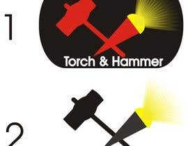 #6 untuk Design a Logo for Torch and Hammer oleh rehanemis