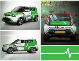 #30 untuk Design wrap for our mobile solution car, phone company oleh elgu